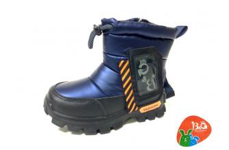 Дутики / Ботинки Детские зимние B&G (CPLZ1-21-22-2322-2B) (Подкладка: Набивная шерсть)