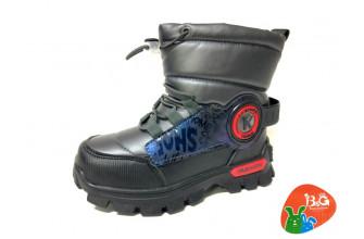 Дутики / Ботинки Детские зимние B&G (CPLZ1-21-22-2322-1K) (Подкладка: Набивная шерсть)
