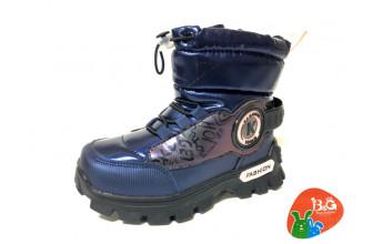 Дутики / Ботинки Детские зимние B&G (CPLZ1-21-22-2322-1H) (Подкладка: Набивная шерсть)