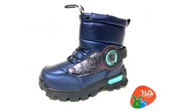 Дутики / Ботинки Детские зимние B&G (CPLZ1-21-22-2322-1B) (Подкладка: Набивная шерсть)