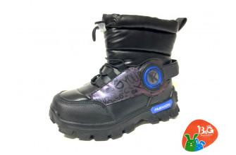 Дутики / Ботинки Детские зимние B&G (CPLZ1-21-22-2322-1A) (Подкладка: Набивная шерсть)
