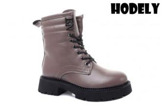 Ботинки Женские зимние HODELY (HDLZ2-21-22-BH155-12) (Подкладка: Искусственный мех)