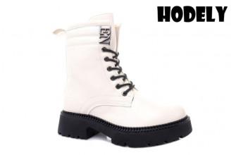 Ботинки Женские зимние HODELY (HDLZ2-21-22-BH155-19) (Подкладка: Искусственный мех)