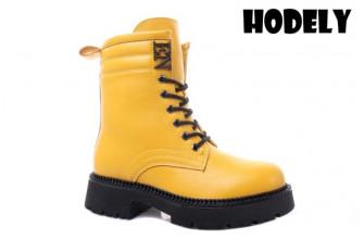 Ботинки Женские зимние HODELY (HDLZ2-21-22-BH155-5) (Подкладка: Искусственный мех)