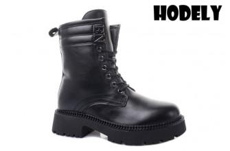 Ботинки Женские зимние HODELY (HDLZ2-21-22-BH155) (Подкладка: Искусственный мех)