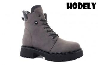 Ботинки Женские зимние HODELY (HDLZ2-21-22-BH161-12) (Подкладка: Искусственный мех)