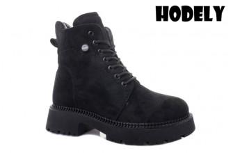 Ботинки Женские зимние HODELY (HDLZ2-21-22-BH161-6) (Подкладка: Искусственный мех)