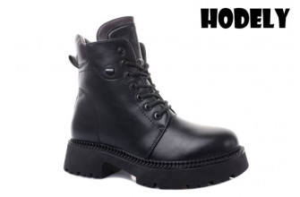 Ботинки Женские зимние HODELY (HDLZ2-21-22-BH161) (Подкладка: Искусственный мех)