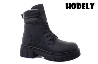 Ботинки Женские зимние HODELY (HDLZ2-21-22-BH168) (Подкладка: Искусственный мех)