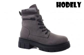 Ботинки Женские зимние HODELY (HDLZ2-21-22-BH168-3) (Подкладка: Искусственный мех)
