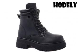 Ботинки Женские зимние HODELY (HDLZ2-21-22-BH170) (Подкладка: Искусственный мех)
