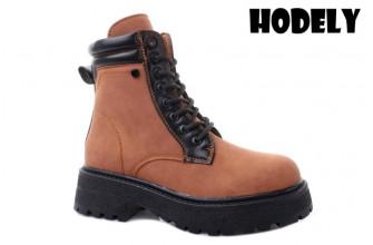 Ботинки Женские зимние HODELY (HDLZ2-21-22-BH170-5) (Подкладка: Искусственный мех)
