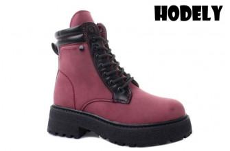 Ботинки Женские зимние HODELY (HDLZ2-21-22-BH170-7) (Подкладка: Искусственный мех)