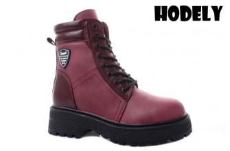 Ботинки Женские зимние HODELY (HDLZ2-21-22-BH169-7) (Подкладка: Искусственный мех)