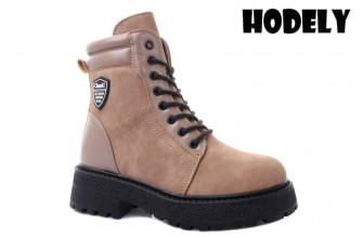Ботинки Женские зимние HODELY (HDLZ2-21-22-BH169-19) (Подкладка: Искусственный мех)