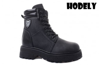 Ботинки Женские зимние HODELY (HDLZ2-21-22-BH169) (Подкладка: Искусственный мех)