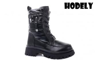 Ботинки Женские зимние HODELY (HDLZ2-21-22-WG131) (Подкладка: Искусственный мех)