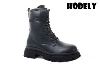 Ботинки Женские зимние HODELY (HDLZ2-21-22-BH156-10) (Подкладка: Искусственный мех)
