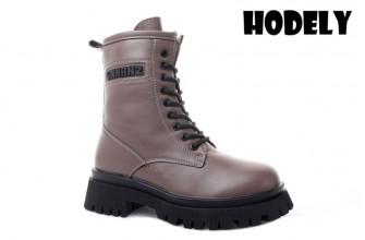 Ботинки Женские зимние HODELY (HDLZ2-21-22-BH156-12) (Подкладка: Искусственный мех)