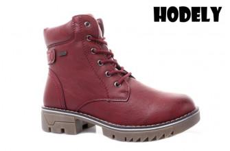 Ботинки Женские зимние HODELY (HDLZ2-21-22-WT121-7) (Подкладка: Искусственный мех)