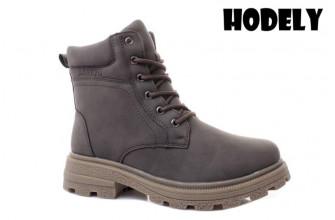 Ботинки Женские зимние HODELY (HDLZ2-21-22-WP128-3) (Подкладка: Искусственный мех)