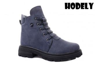 Ботинки Женские зимние HODELY (HDLZ2-21-22-WP127-1) (Подкладка: Искусственный мех)