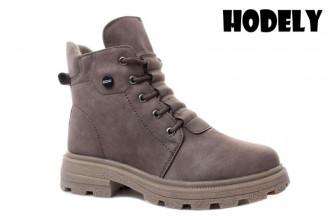 Ботинки Женские зимние HODELY (HDLZ2-21-22-WP127-3) (Подкладка: Искусственный мех)