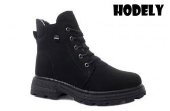 Ботинки Женские зимние HODELY (HDLZ2-21-22-WP127-6) (Подкладка: Искусственный мех)