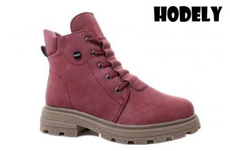 Ботинки Женские зимние HODELY (HDLZ2-21-22-WP127-7) (Подкладка: Искусственный мех)