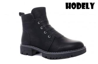Ботинки Женские зимние HODELY (HDLZ2-21-22-WT123) (Подкладка: Искусственный мех)