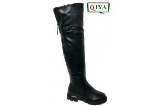 Сапоги Высокие Женские зимние QIYA (VTLZ1-21-22-M72)