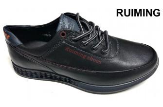 Туфли Подростковые демисезонные на мальчика RUIMING (VTLD5-21-T5818)