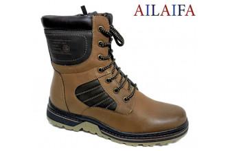 Ботинки Мужские зимние AILAIFA (VTLZ20-21-B68081-11)