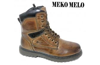 Ботинки Подростковые зимние на мальчика MEKO MELO (VTLZ9-10-TE9676-6)