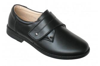 Туфли из НАТУРАЛЬНОЙ КОЖИ Детские на мальчика ФАВОРИТ (ASMD1-9-C136-Y730B)