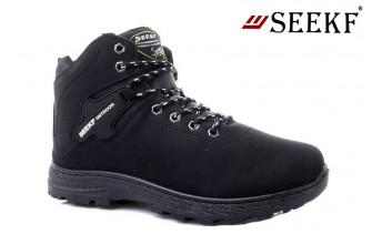 Ботинки Мужские зимние SEEKF (SKFZ1-21-22-5022-1) (Подкладка: Искусственный мех)
