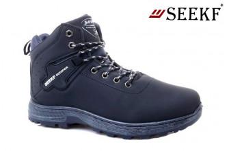 Ботинки Мужские зимние SEEKF (SKFZ1-21-22-5022-2) (Подкладка: Искусственный мех)