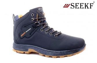 Ботинки Мужские зимние SEEKF (SKFZ1-21-22-5022-3) (Подкладка: Искусственный мех)