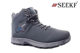 Ботинки Мужские зимние SEEKF (SKFZ1-21-22-5022-5) (Подкладка: Искусственный мех)