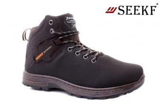 Ботинки Мужские зимние SEEKF (SKFZ1-21-22-5022-6) (Подкладка: Искусственный мех)