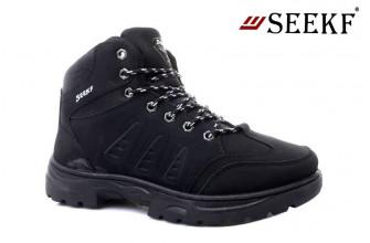 Ботинки Мужские зимние SEEKF (SKFZ1-21-22-5054-1) (Подкладка: Искусственный мех)