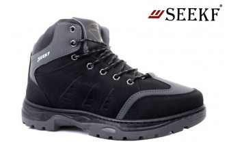 Ботинки Мужские зимние SEEKF (SKFZ1-21-22-5054-2) (Подкладка: Искусственный мех)