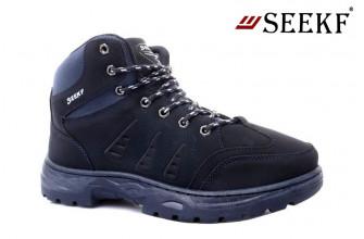 Ботинки Мужские зимние SEEKF (SKFZ1-21-22-5054-3) (Подкладка: Искусственный мех)