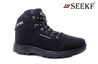 Ботинки Мужские зимние SEEKF (SKFZ1-21-22-580-1) (Подкладка: Искусственный мех)