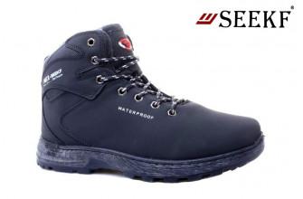 Ботинки Мужские зимние SEEKF (SKFZ1-21-22-580-21) (Подкладка: Искусственный мех)