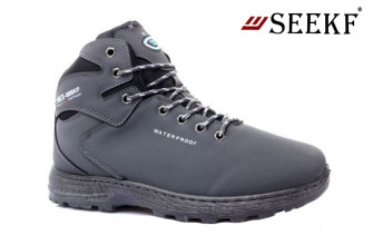 Ботинки Мужские зимние SEEKF (SKFZ1-21-22-580-3) (Подкладка: Искусственный мех)
