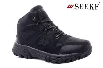 Ботинки Мужские зимние SEEKF (SKFZ1-21-22-9125-1) (Подкладка: Искусственный мех)