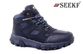 Ботинки Мужские зимние SEEKF (SKFZ1-21-22-9125-2) (Подкладка: Искусственный мех)
