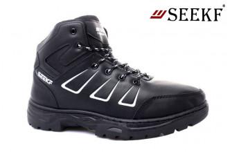 Ботинки Мужские зимние SEEKF (SKFZ1-21-22-5056-1) (Подкладка: Искусственный мех)