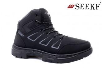 Ботинки Мужские зимние SEEKF (SKFZ1-21-22-5056-3) (Подкладка: Искусственный мех)